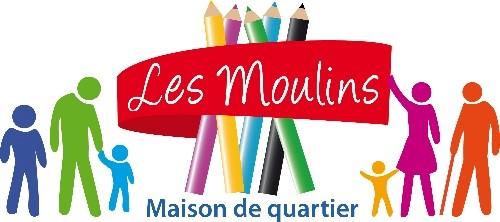 Logo Maison quartier Les moulins